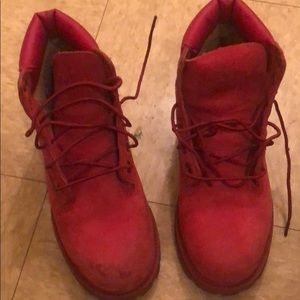 Red Timberlands!